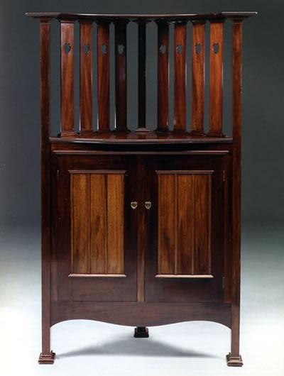Mobiliario diseñado por C.F.A. Voysey