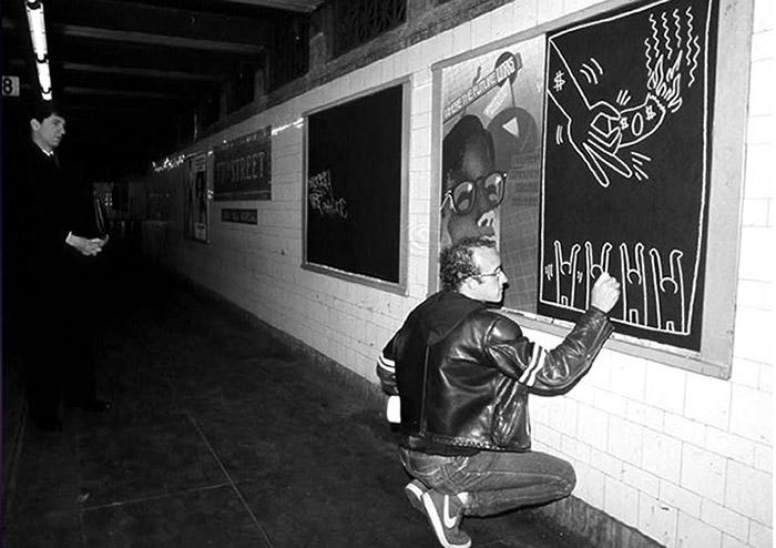 Keith Haring - Subway